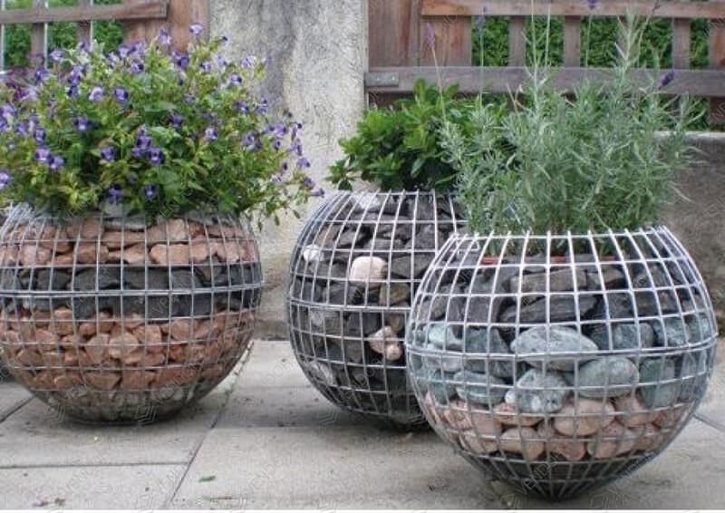 Який сталевий дріт потрібний для виготовлення декоративних габіонів