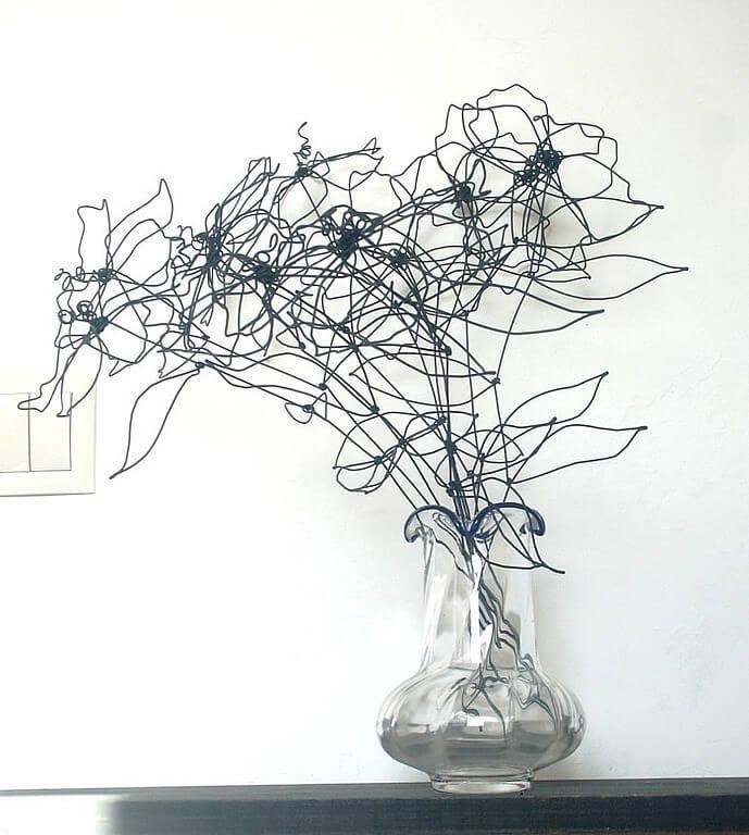 Цветы из проволоки