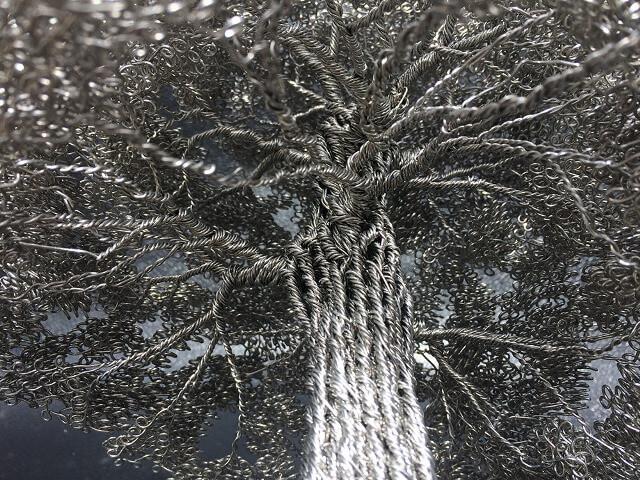 Стальная проволока в дизайне: изумительные деревья Клайва Меддисона