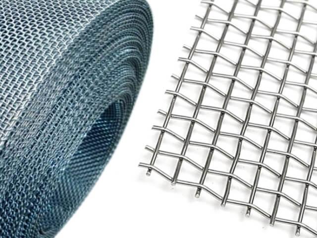 Как используется в строительстве тканая сетка из стальной проволоки