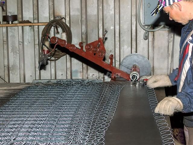 Изготовление сетки рабицы