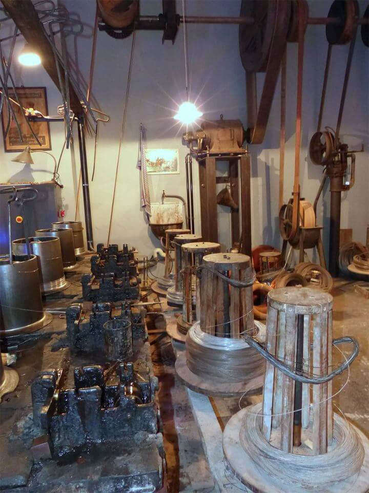 Музей проволоки в Германии в городе Альтена