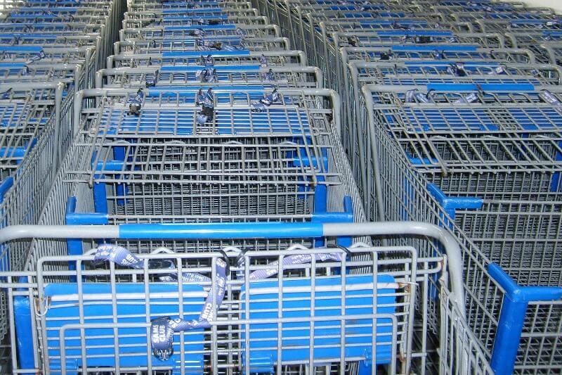 Производство тележек для супермаркетов