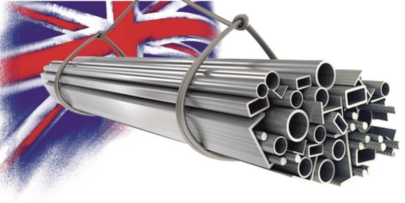 Импорт металлопродукции в Великобританию