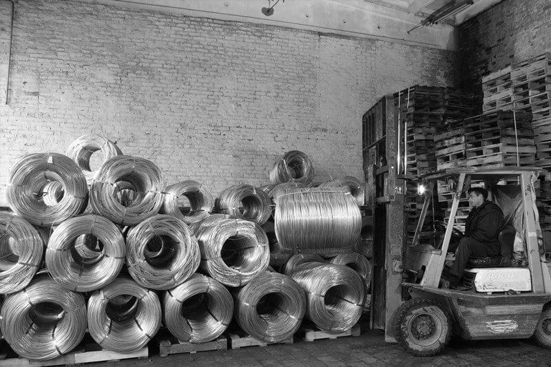 Сталевий дріт власного виробництва в мотках та бухтах