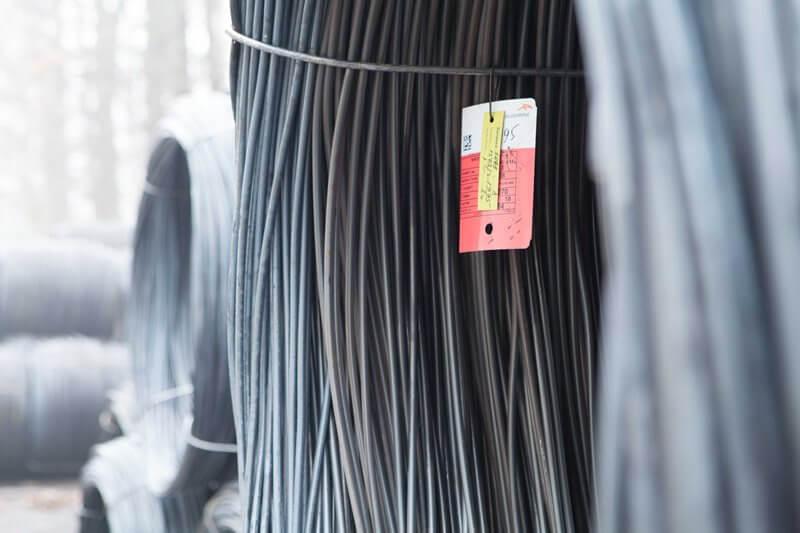 Сталевий дріт виробництва Уманського дротяного заводу Украгрометпром