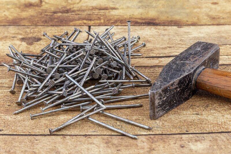 Цвяхи зі сталевого дроту